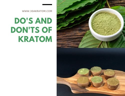 Do's and Don'ts of Kratom